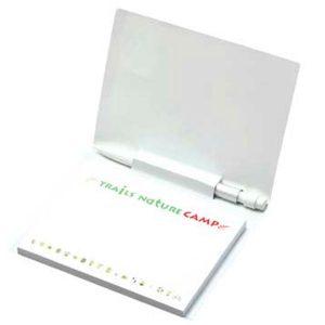 BIC 101 mm x 75 mm Notas Adhesivas con Cubierta y Mini Portaminas
