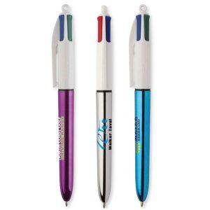 BIC 4 Colores Shine Bolígrafo