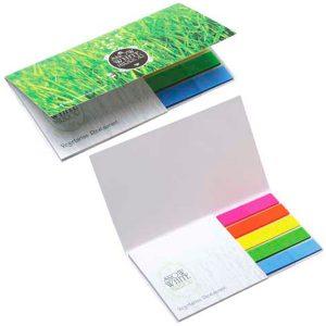BIC 75 mm x 75 mm Notas Adhesivas con Flag Booklet