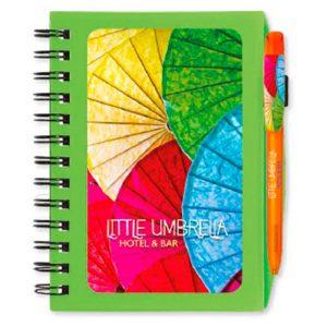 BIC Notebooks Cubierta de Plástico Colores Fashion britePix