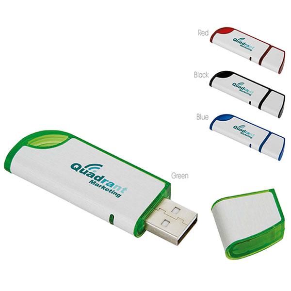 09214 Slanted USB 2.0 Memoria USB