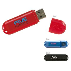 09225 Oval Translucent USB 2.0 Memoria USB