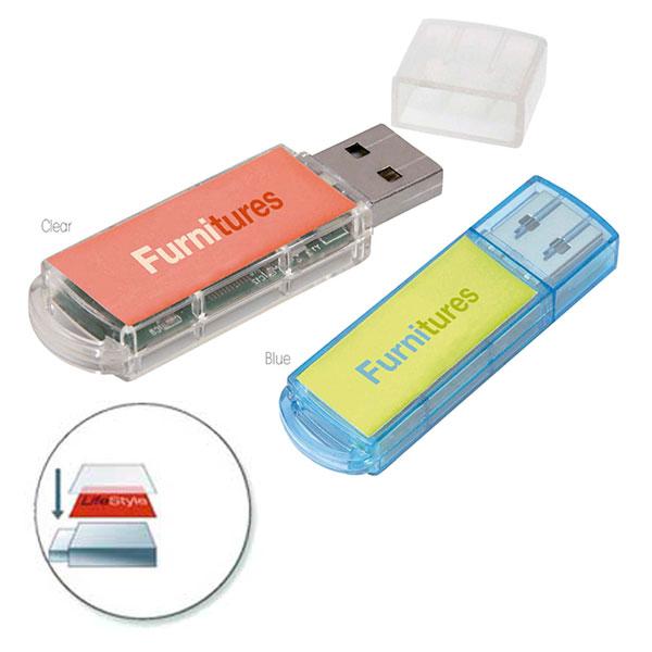 09363 Translucent USB 2.0 Memoria USB