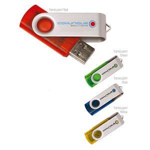 09421 Translucent Folding USB 2.0 Memoria USB