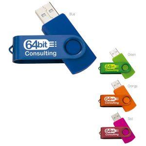 09536 Two Tone Folding USB 2.0 Memoria USB