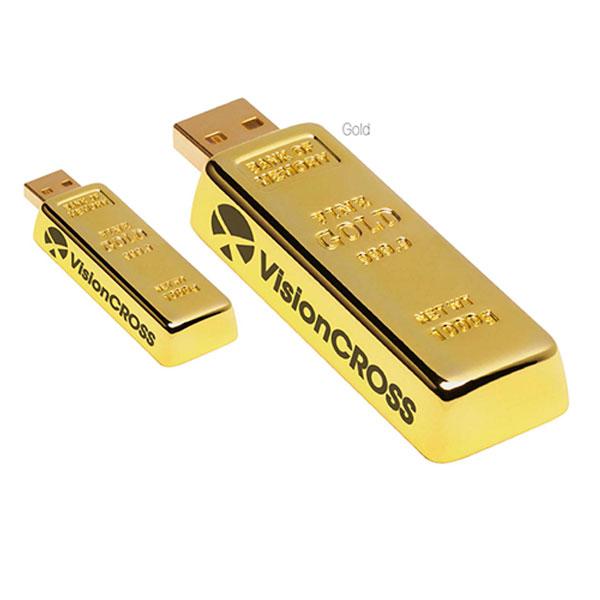 09583 Golden Nugget USB 2.0 Memoria USB