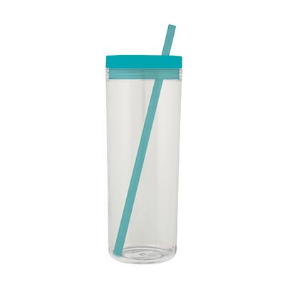 40011 Vaso de colores transparente