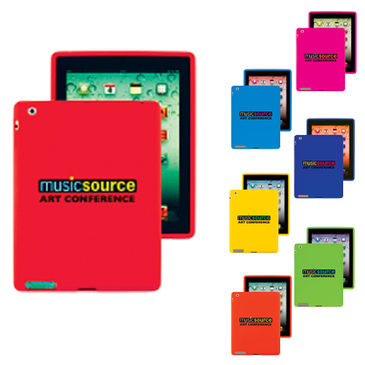 79175 Funda de silicona para tableta compatible con iPad® 2/3