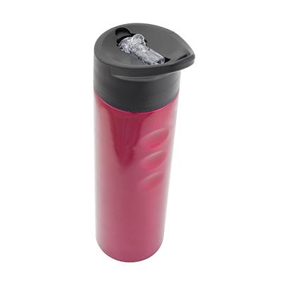 91073 Botella sport con pajilla incorporada
