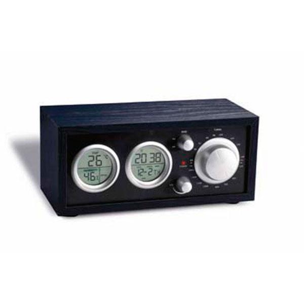 05078 Radio de sobremesa con reloj LCD