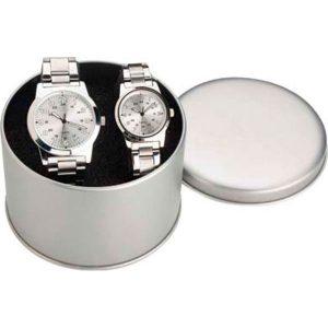 22131 Set de relojes de señora y caballero
