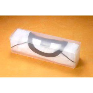 38077 Caja de polipropileno traslúcido para textiles