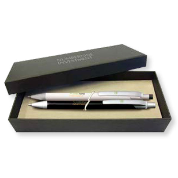 BIC Black Two-Piece Gift Box for 2 item