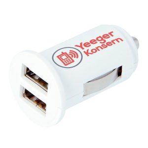 09009 Cargador para el coche Midget Dual USB SKROSS