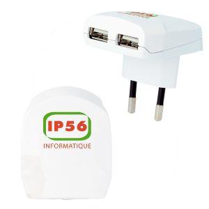 09523 Cargador Euro USB