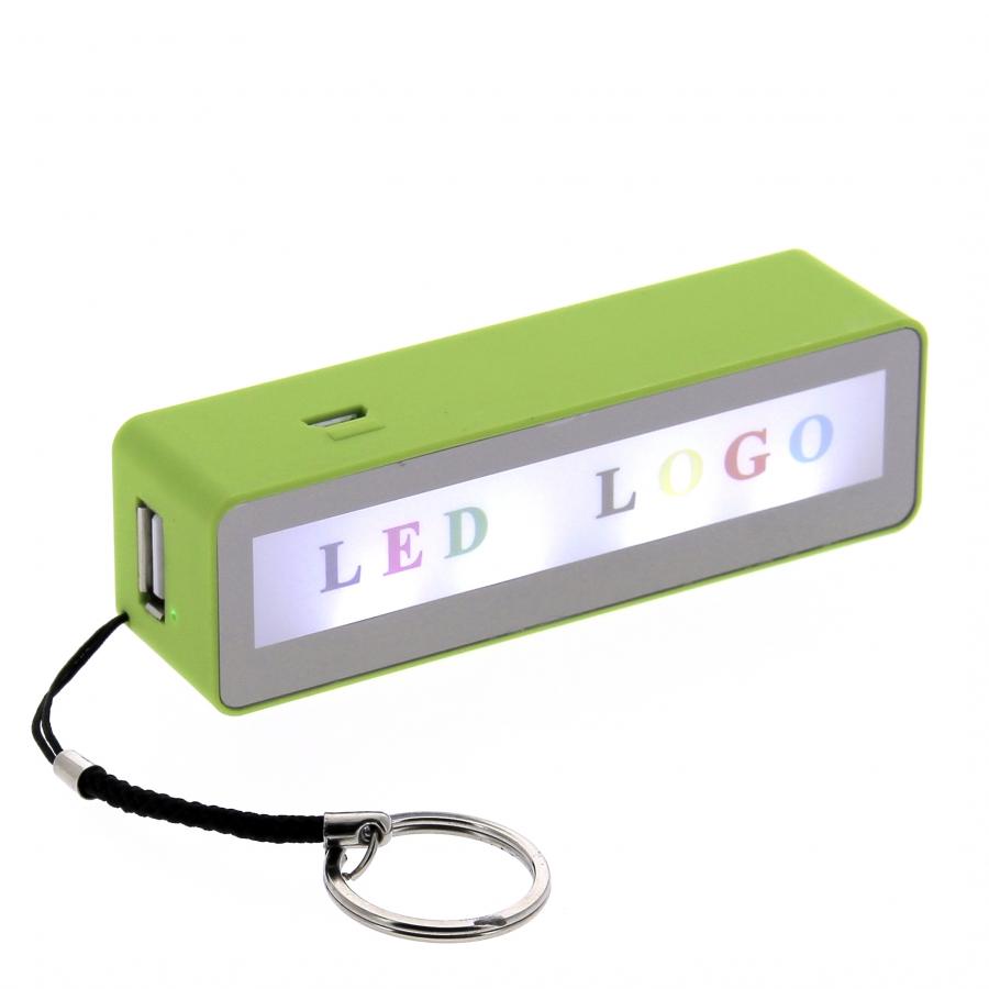 09418 Led Logo Power Bank