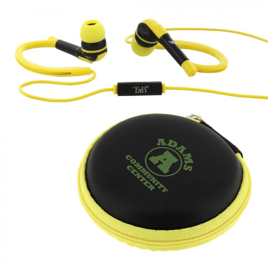 09657 Auriculares con micrófono Sport T'nB®