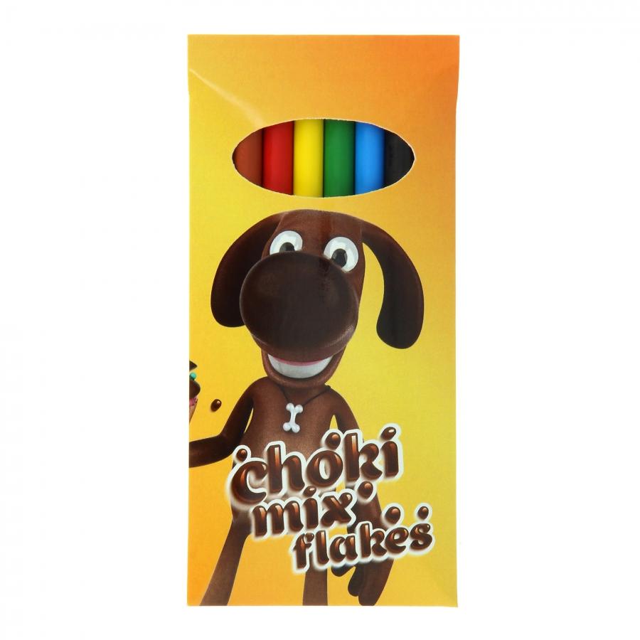 BIC Plastidecor set of 6 crayons Ceras de colores 1201