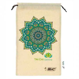 BIC Cotton drawstring pouch 00068
