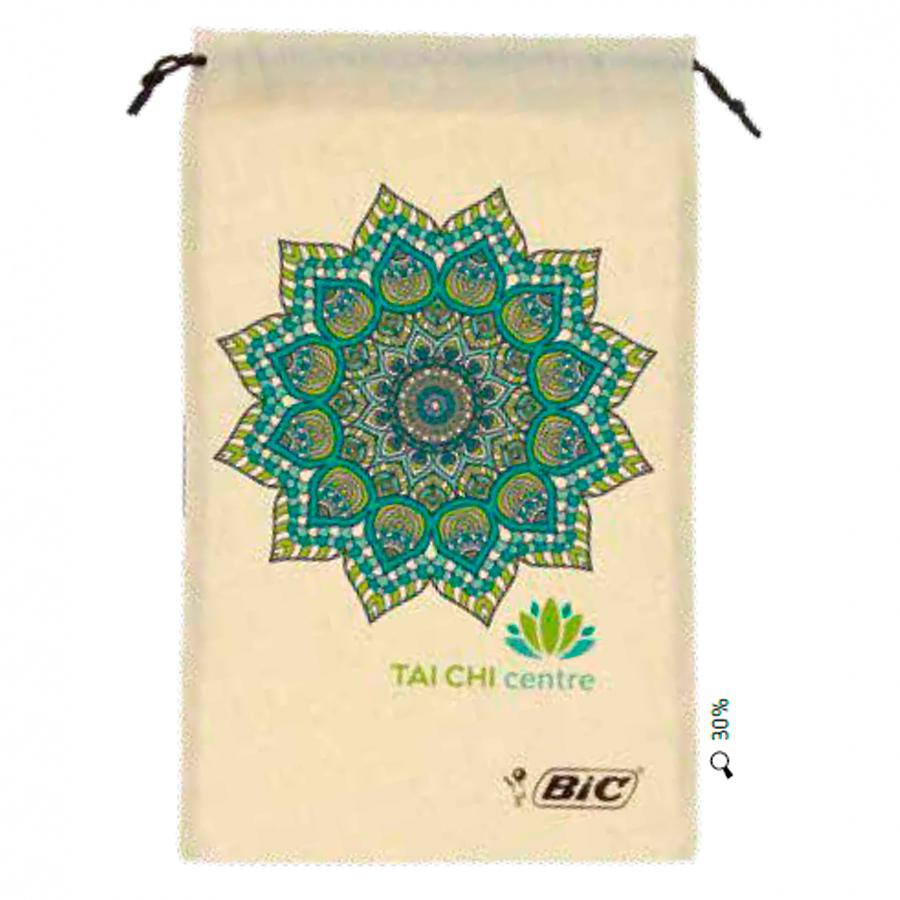 BIC Cotton drawstring pouch 00068