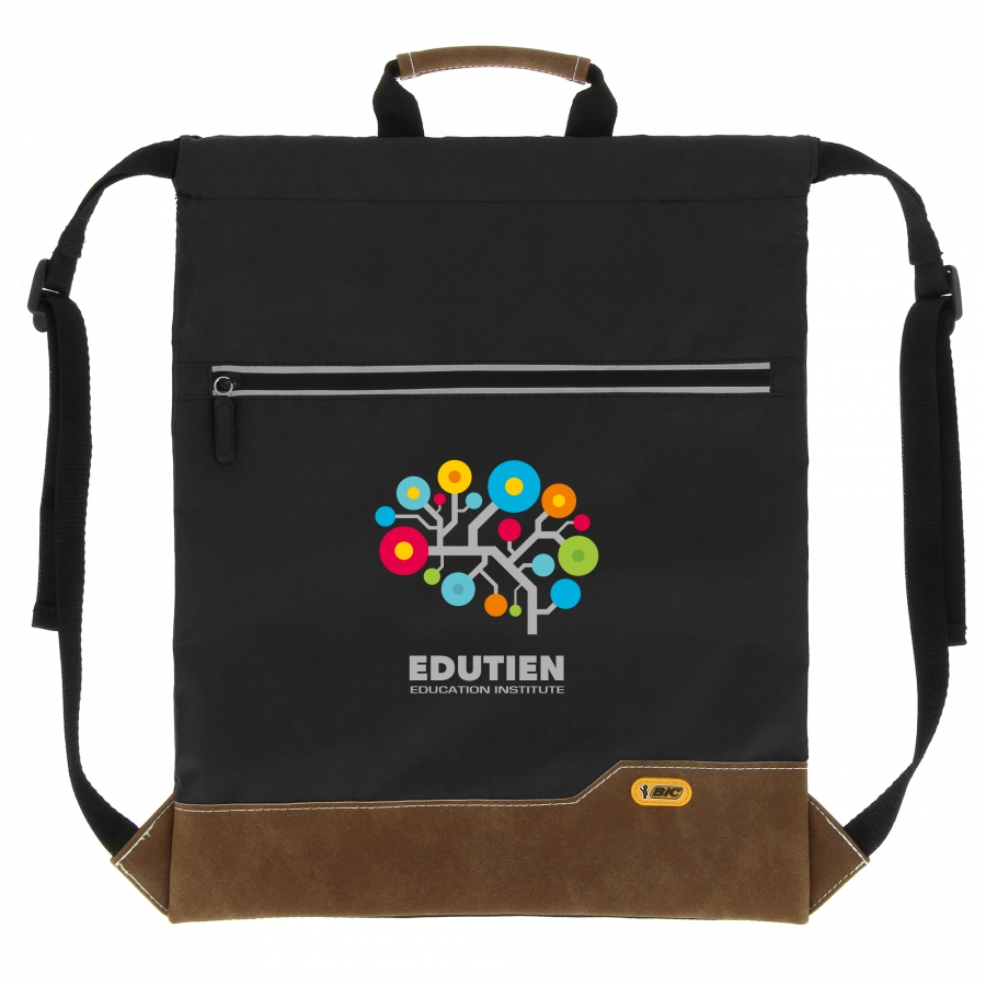 BIC Drawstring Backpack (offset) Mochila 3453